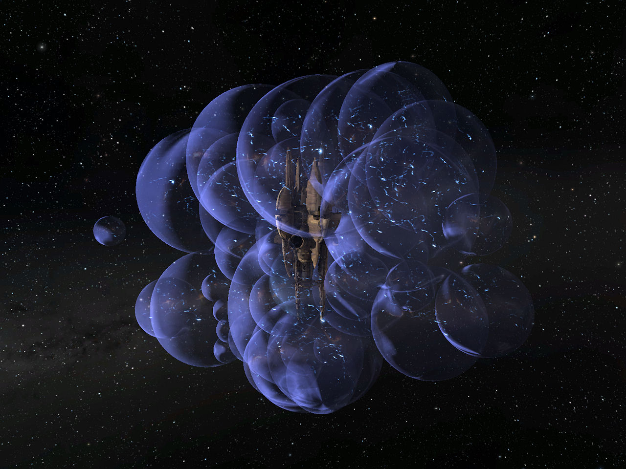 how to create a warp bubble