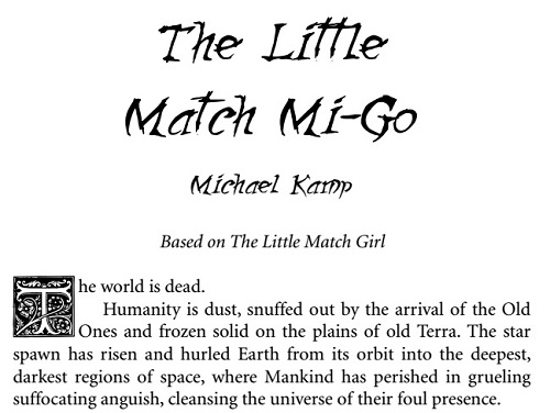 Little Match Mi-Go