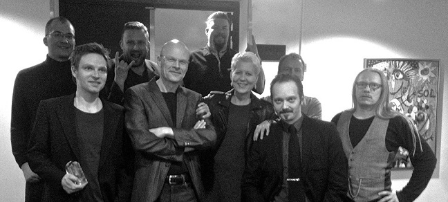 The Rot Pack. Fra Venstre: Nikolaj Højberg, Teddy Vork, Jacob Krogsøe, Dennis Jürgensen, Michael Kamp, Rikke Schubart, LG Jensen, Niels Ole Busk og Henrik Sandbeck Harksen.