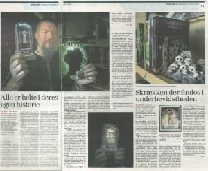 Dagbladet Roskilde samlet lille